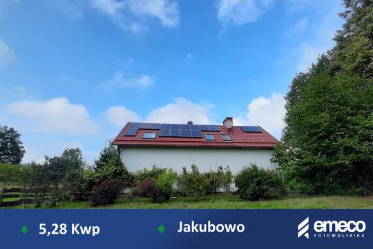 Fotowoltaika Jakubowo 5,28 kW